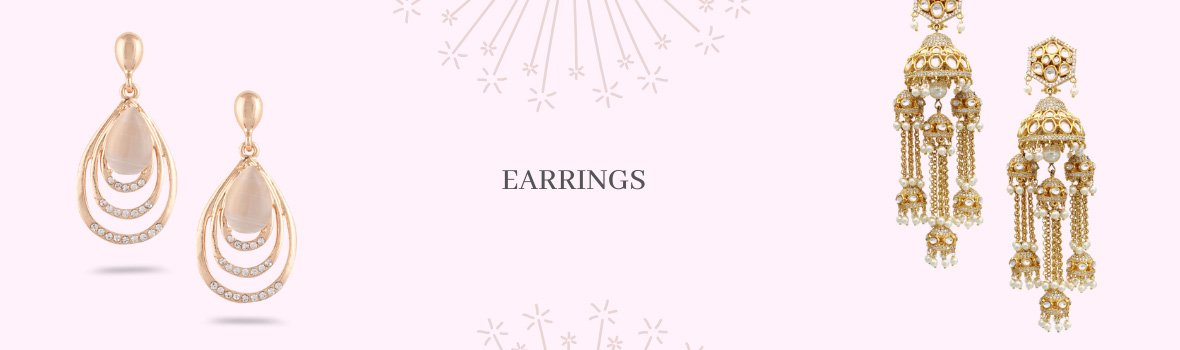 Buy Fashion Earrings Online   Latest Designs at Best Price   SIA Jewellery